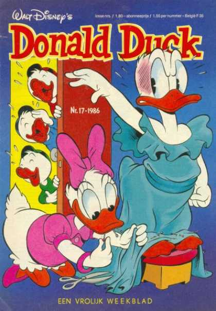 Donald Duck (Dutch) - 17, 1986