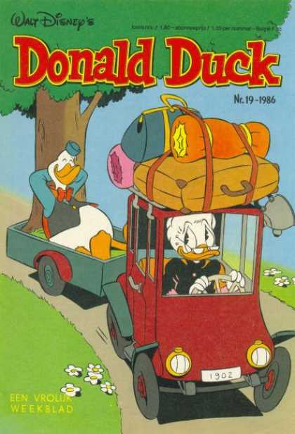 Donald Duck (Dutch) - 19, 1986