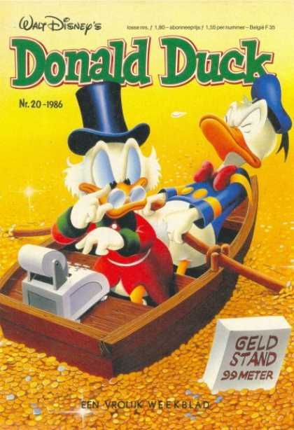 Donald Duck (Dutch) - 20, 1986