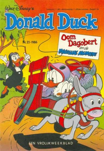 Donald Duck (Dutch) - 21, 1986