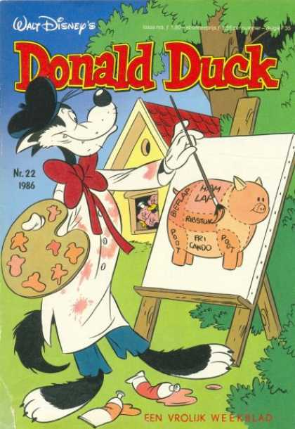 Donald Duck (Dutch) - 22, 1986