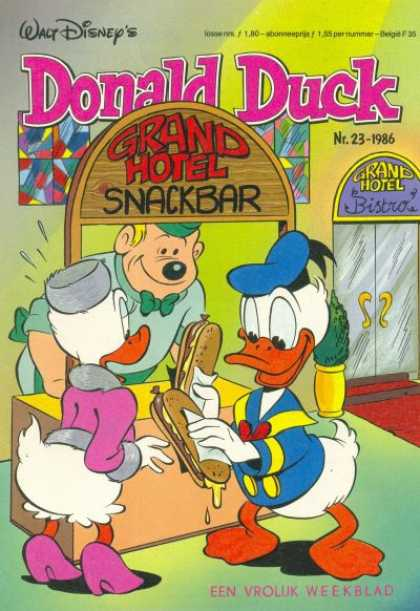 Donald Duck (Dutch) - 23, 1986