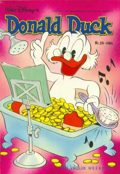 Donald Duck (Dutch) - 24, 1986