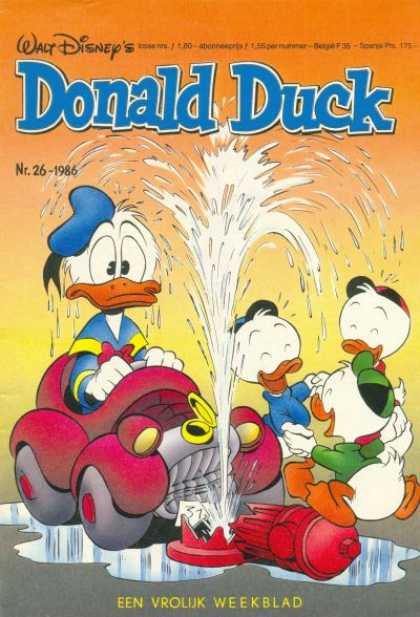 Donald Duck (Dutch) - 26, 1986