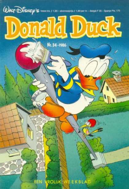 Donald Duck (Dutch) - 34, 1986