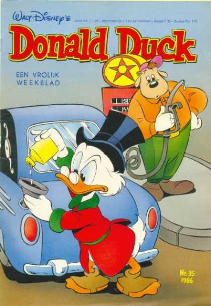 Donald Duck (Dutch) - 35, 1986