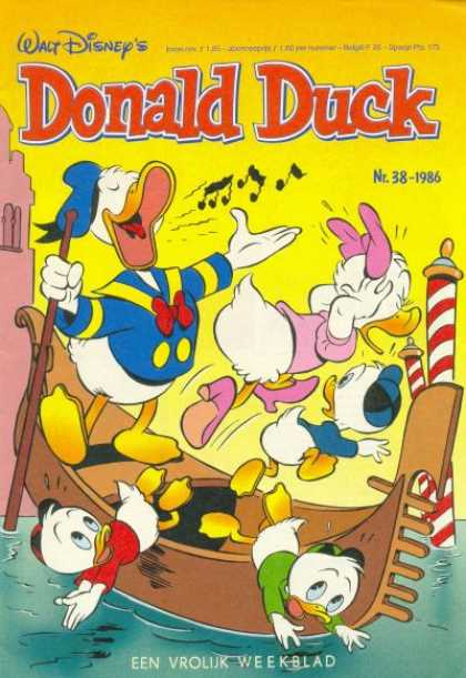 Donald Duck (Dutch) - 38, 1986