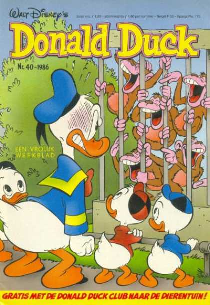 Donald Duck (Dutch) - 40, 1986