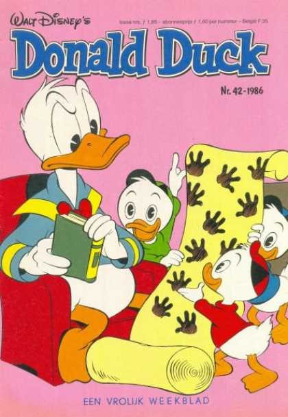 Donald Duck (Dutch) - 42, 1986