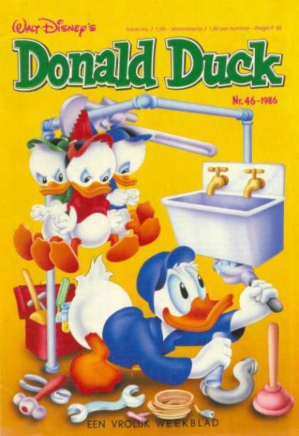 Donald Duck (Dutch) - 46, 1986