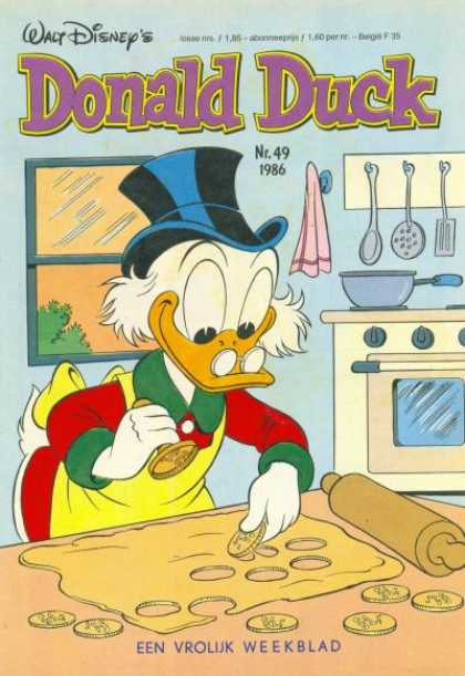 Donald Duck (Dutch) - 49, 1986