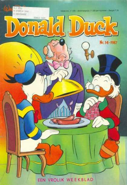 Donald Duck (Dutch) - 14, 1987