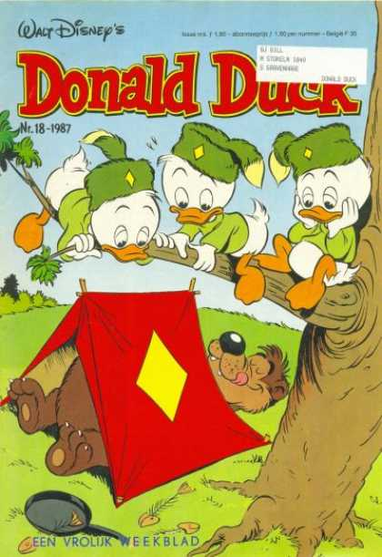 Donald Duck (Dutch) - 18, 1987