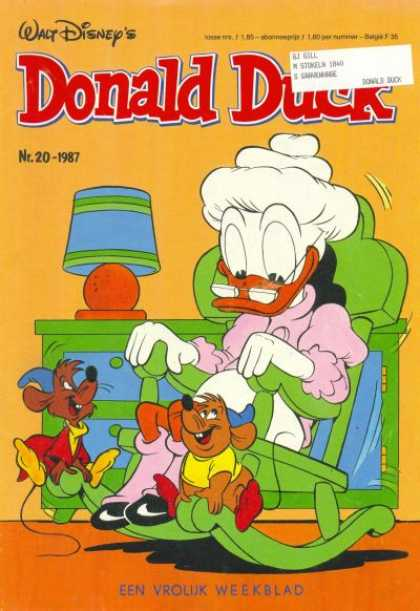 Donald Duck (Dutch) - 20, 1987