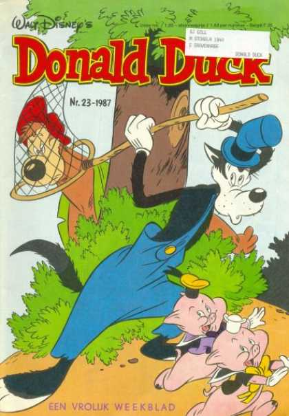 Donald Duck (Dutch) - 23, 1987