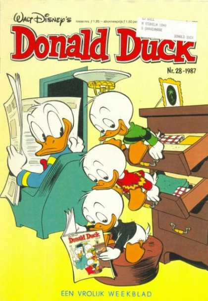 Donald Duck (Dutch) - 28, 1987