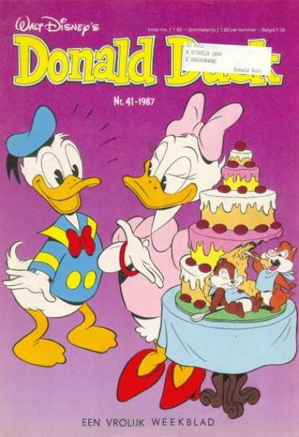 Donald Duck (Dutch) - 41, 1987