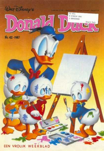 Donald Duck (Dutch) - 42, 1987