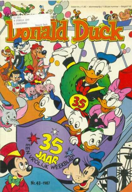 Donald Duck (Dutch) - 43, 1987