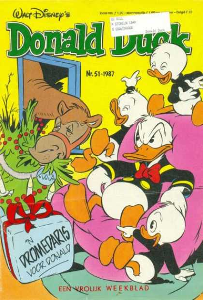 Donald Duck (Dutch) - 51, 1987