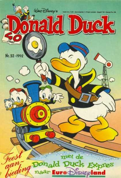 Donald Duck (Dutch) - 32, 1992