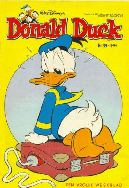 Donald Duck (Dutch) - 33, 1994