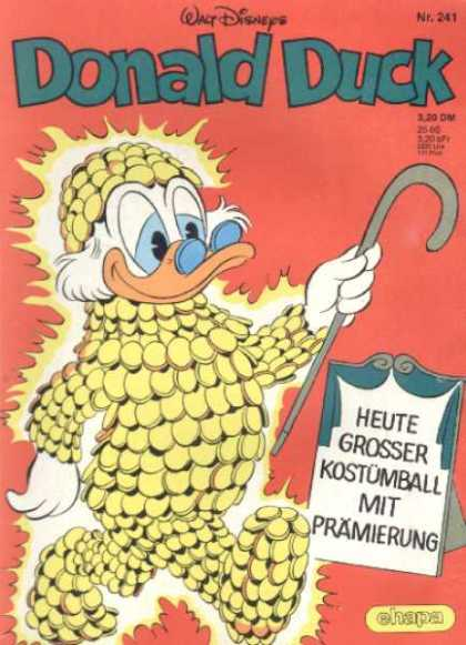 Donald Duck (German) 101 - Disney - Disney Comics - Uncle Scrooge - Money - Customball