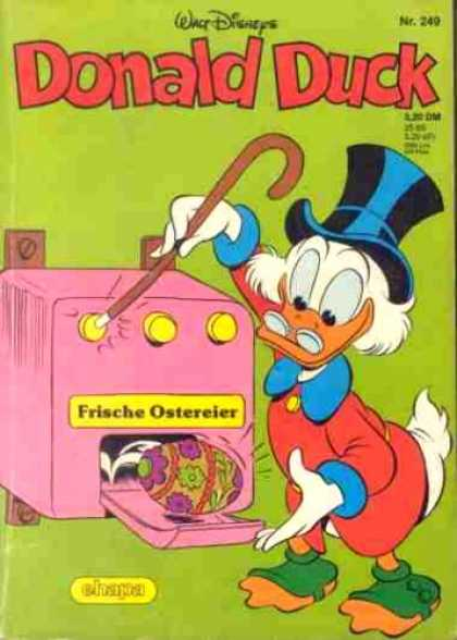 Donald Duck (German) 103 - Duck - Egg - Cane - Hat - Coat