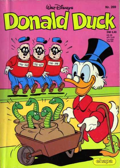 Donald Duck (German) 111 - Snakes - Triplelits - Rich Duck - Criminals - Top Hat