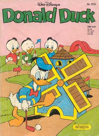 Donald Duck (German) 112 - Huey Dewey And Louie - Laughing - Put Put - Wind Mill - Angry Donald
