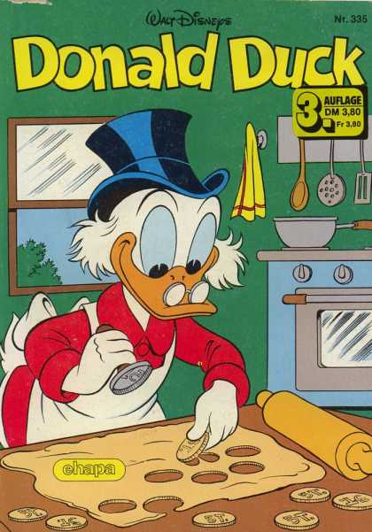 Donald Duck (German) 134 - Uncle Scrooge - German - Kitchen - Baking - Money