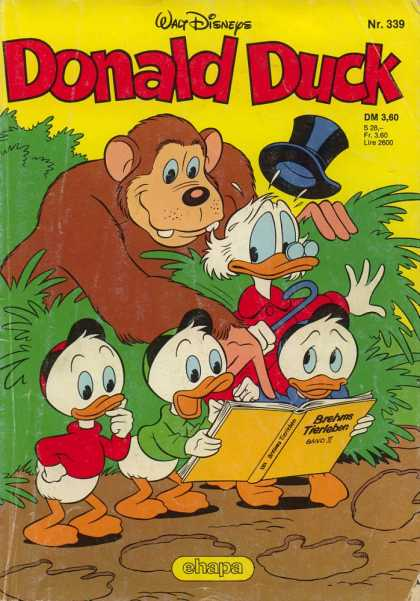 Donald Duck (German) 136 - Disney - Disney Comics - Donald Duck - Jungle - Monkey