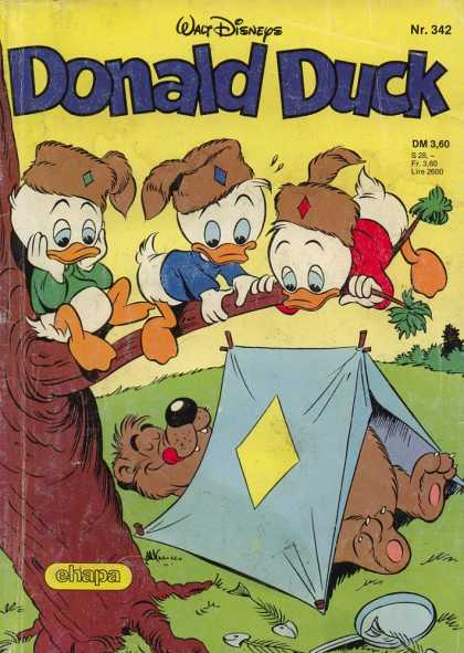 Donald Duck (German) 139 - Bear - Tent - Huey - Dewey - Louie