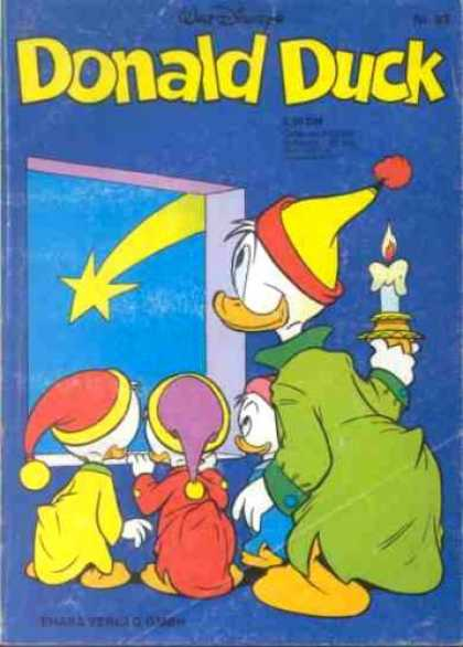 Donald Duck (German) 88 - Walt Disney - Donald Duck - Falling Star - Baby Ducks - Donald With Candle