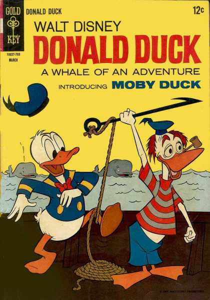 Donald Duck 112 - Harpoon - Sperm Whale - Seaman - Pipe - Whaling Ship