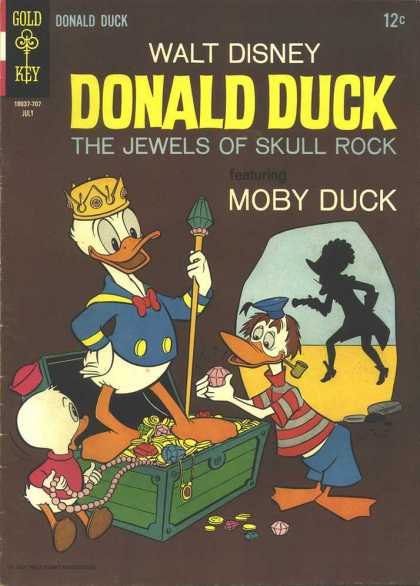 Donald Duck 114 - Jewels Of Skull Rock - Moby Duck - Treasure Chest - Cave - Crown