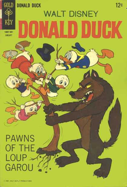 Donald Duck 117 - Wolf And The Ducks - Donald Introuble - No Luck For The Ducks - Nn A Shaky Ground - Hold Or Fall