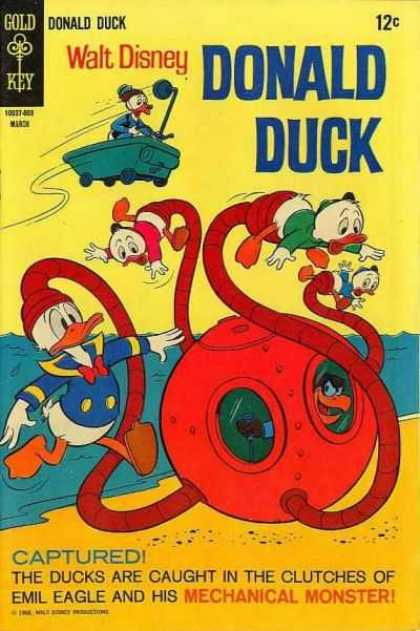 Donald Duck 118 - Mechanical Monster - Emil Eagle - Huey - Dewey - Louie