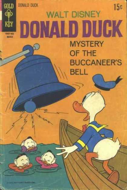 Donald Duck 130 - Mystery - Bell - Boat - Ringing Loudly - Water