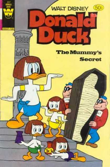 Donald Duck 227 - Mummys Secret - Beagle Boys - Donald Duck - Huey - Dewey