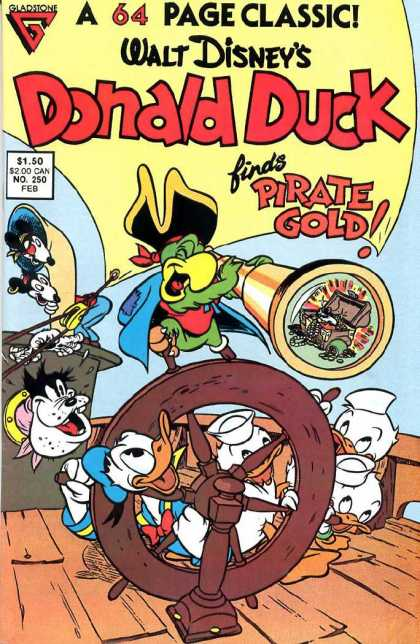 Donald Duck 250 - Disney - Donald Duck - Gladstone - Carl Barks - Pirates