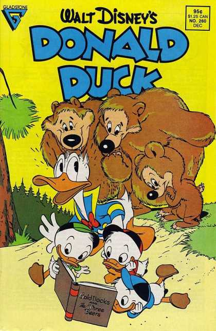 Donald Duck 260 - Donald - Nephews - Goldilocks - Three Bears - In The Forest