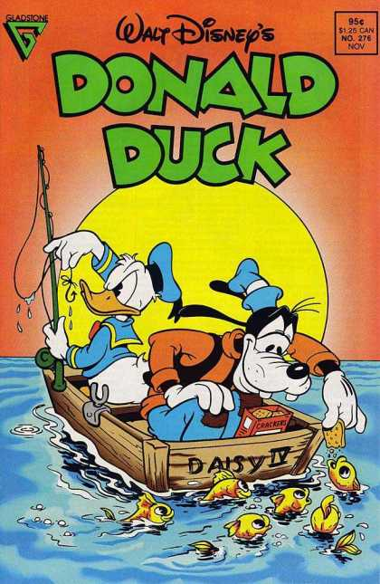 Donald Duck 276 - Goofy - Crackers - Fishing - Boat - Daisy