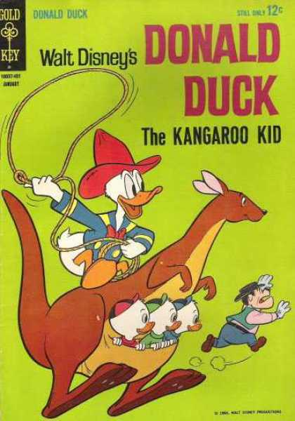 Donald Duck 92 - Disney - Donald Duck - Kangaroo - Old West - Huey Duey And Lewis