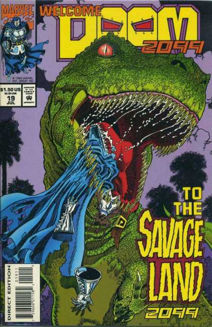 Doom 2099 19 - Maryel - 2099 - 150 - Savage Land - Doom