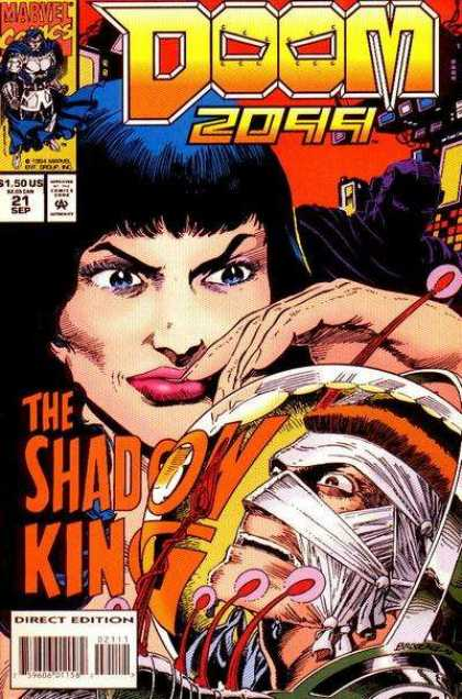 Doom 2099 21 - Marvel - Shadow King - Bandages - September - Hand