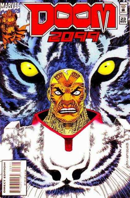 Doom 2099 23 - 2099 - Eyes - Tiger - Yellow - November