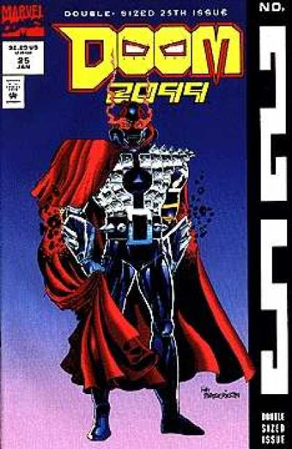 Doom 2099 25 - Marvel - Double Sized 25th Issue - 25 Jan - Approved By The Comics Code Authority - No25