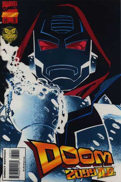 Doom 2099 32 - Future - Villain - Ruler - Latveria - Mask