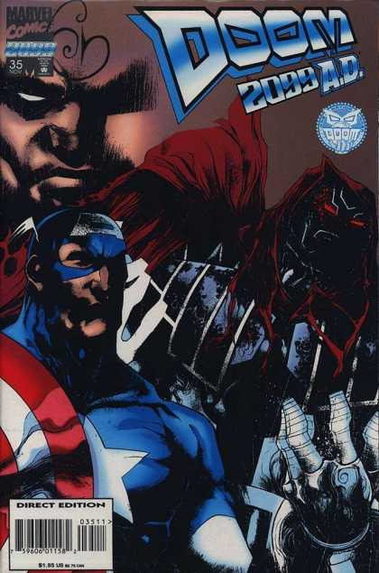 Doom 2099 35 - 35 - Direct Edition - Boom - Marvel - Captain America - Ashley Wood